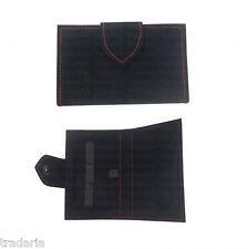 BLACK VELVET DE SAFETY RAZOR STORAGE POUCH TRAVEL CASE GIFT COVER BAG HOLDER