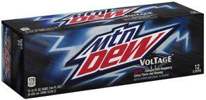 Mountain Dew Voltage, 12 oz (pack of 12) @ 355ML-September 20,2021