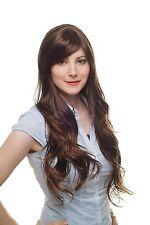 Perruque pour femmes,braun,brun clair Affiler,ondulé,très long,ca 70 cm,
