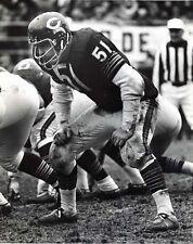 Dick Butkus - Bears, 8x10 B&W Photo