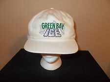 VTG-1990s Green Bay Ice AHA American Hockey defunct golf style snapback hat sku9