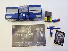 Soundwave Soundblaster Transformers Titans Return v
