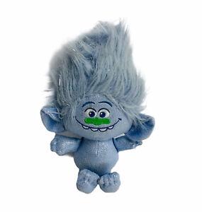 "Hasbro Trolls Guy Diamond Blue Plush Doll Toy DreamWorks 8"""