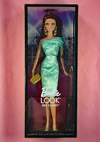 BARBIE LOOK RED CARPET - BRUNETTE IN GREEN - NRFB - 2013