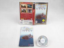 Myst PlayStation PSP Complete Region Free