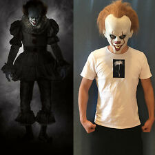 Stephen King's IT Mask Clown Adult Halloween Cosplay Costumes Pennywise Masks