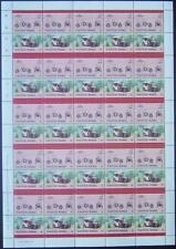 1904 MERCEDES SIMPLEX 28/32 PS Car 50-Stamp Sheet (1985 Nukufetau TUVALU)