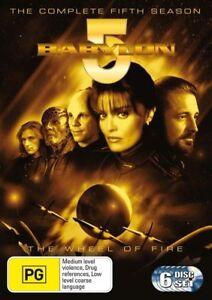 BABYLON 5 COMPLETE FIFTH SEASON DVD REGION 4 AS NEW