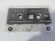THALIA ARRASANDO EMI MEXICO 2000 - CINTA TAPE CASSETTE SIN LA CAJA
