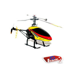ROTOR XVI Elicottero radiocomandato 4.5 canali drone LED giroscopio ricambi