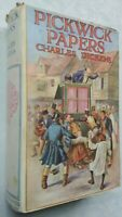 CHARLES DICKENS THE PICKWICK PAPERS 1ST HB DJ C1935 WINDSOR LIBRARY JOHN FORSTER