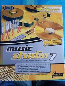 Magix Music Studio 7 PC CD-ROM Music Production in original Big Box packaging