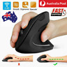 2.4Ghz Vertical Ergonomic Optical  Wireless Health Mouse Mice 800/1200/1600 DPI