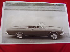 1963 DODGE POLARA CONVERTIBLE    BIG   11 X 17  PHOTO   PICTURE