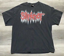 Vintage Slipknot shirt 90s tour tee band metal logo Size XL