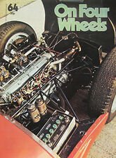 On Four Wheels magazine Issue 64 featuring Maserati cutaway drawings,Fiat, Matra
