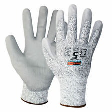 1 Pair Of Showa 541 HPPE Liner Cut Resistant Gloves Workwear Safety Pu Grip