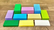 Lego Baseplates 8x16 Genuine Lego 92438 - You Pick The Color - Quantity of 5