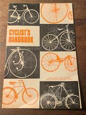 C 1970 Cyclist Cyclist's Handbook Road safety rules bicycle regulations signals