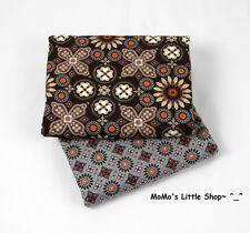 Beautiful Vera Bradley 100% Cotton Fabric (Canyon) —— 2 Matching Fat Quarters