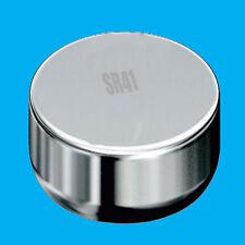 2x SR41SW SR41 1.55V oxyde d'argent pile bouton montre de rechange