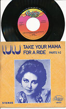 LULU 45 TOURS BELGIQUE TAKE YOUR MAMA FOR A RIDE