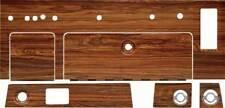 1969 Camaro Complete 6 Piece Dash Woodgrain Kit