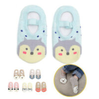 Toddler Baby Cotton Floor Socks Infant Non-slip Shoes First Walker Booties Socks