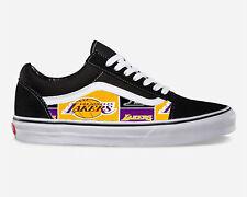 Vans Old Skool Classic Shoe Lakers Inspired Suede Canvas Custom NEW