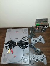 New listing Sony PlayStation Ps1 Gray Console 2 Systems with games/memory card