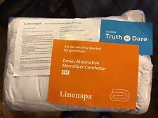 LINENSPA All-Season Stone Down Microfiber Comforter, FULL