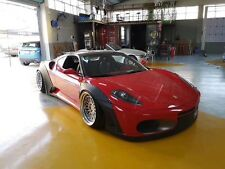 Für Ferrari430 Walker Stil Front Lip Spoiler Diffuser Seite Rock Fender Flares