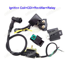 Regulator Relay CDI Ignition Coil 50 70 90 110cc GIO Kazuma Baja Taotao Sunl ATV