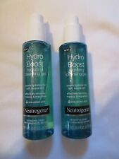 (2) Neutrogena Hydro Boost Hydrating Cleansing Gel 6 Oz Each