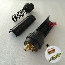 Euro Fitting Mig Welding Torch Adaptor Connector Conversion kit Torch Side