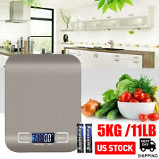 Kitchen Scale Electronic Food Weighing Scale Digital Measuring Gram Accurate 1g