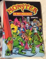 "1992 ""Monsters in my Pocket"" UK Annual book mint MIMP cartoon"