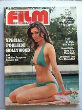 FILM INTERNATIONAL #4 Marvel Magazine Raquel Welch EROTIC FILM TURNON WOMEN 1975