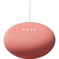 Google Nest Mini Smart Speaker w/ Google Assistant Coral 2nd Gen - GA01141-US