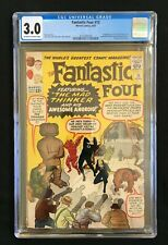 Fantastic Four #15 1st App. of The Mad Thinker CGC 3.0 3737283018