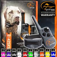 SportDOG SD-425XS FieldTrainer Stubborn Remote Dog Training Collar + Color Strap