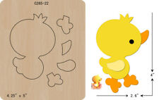 New Ducks, felt wooden die Cutting Dies  Scrapbooking  C-265-22