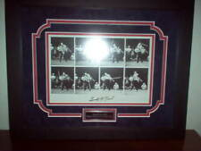 Gerald R. Ford Autographed 10 x 8  B/W Golf Swing Photos Framed and Matted + COA
