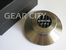 ndd04 Stainless Steel 390g Record Weight LP Disc Stabilizer Turntable Clamp HiFi