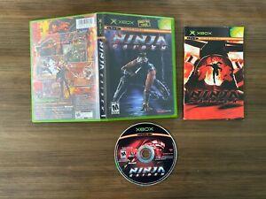 Ninja Gaiden (Microsoft Xbox) [Complete In Box]