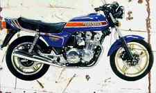 Honda CB900F BoldOr 1981 Aged Vintage Photo Print A4 Retro poster