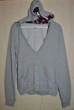 Girl's SOFFEE Gray Hoodie Sweatshirt Size XL University of Illinois