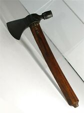 1890s Native American Sioux Indian Tomahawk Pipe - Tack Decorated Belt Axe Size