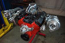 CX Twin Turbo Manifold Header Downpipe Kit For 64-67 Chevelle BBC Big Block 427
