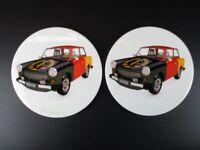 Untersetzer Trabi Trabant Auto Coaster 2 Stück Souvenir Germany,NEU